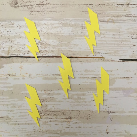 Lighting Bolt Confetti
