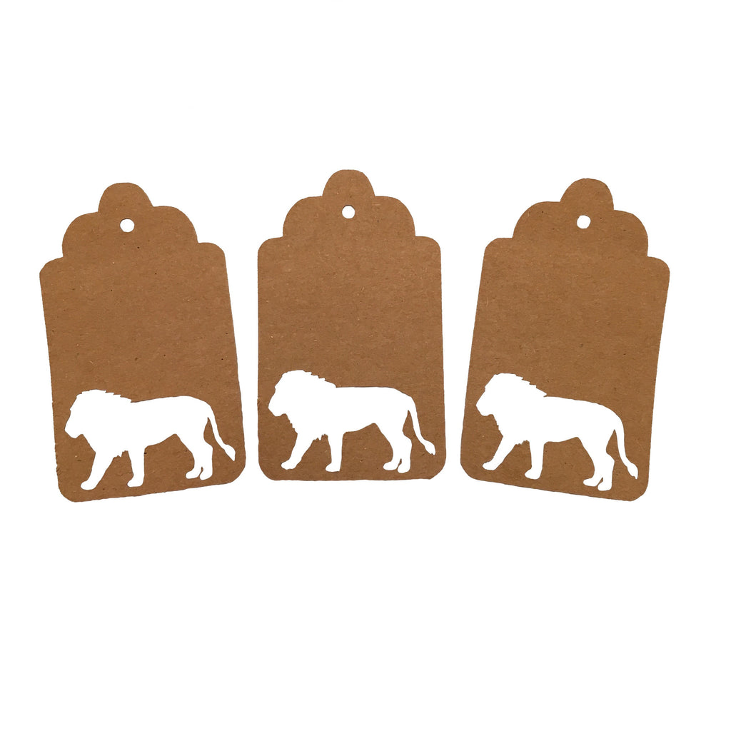 Lion, Animal, Gift Tags, Tags, NatureCuts