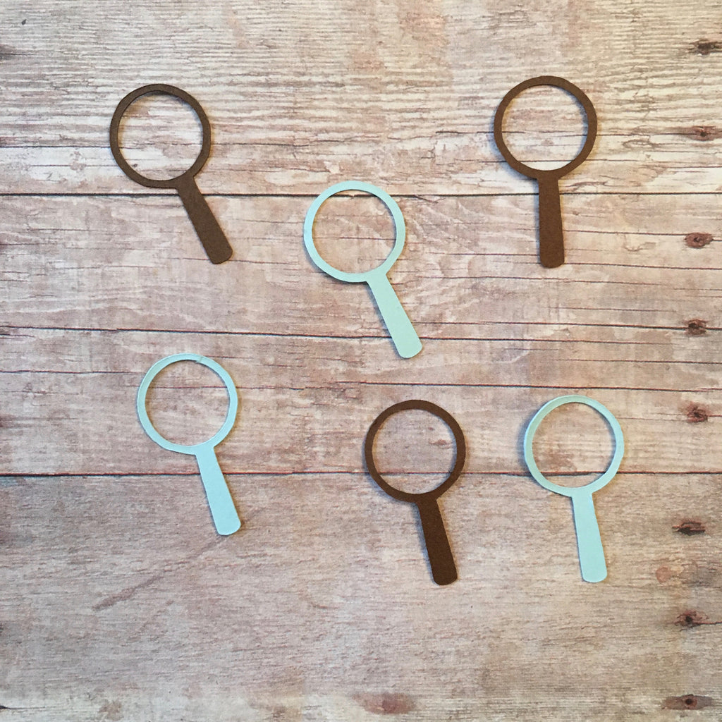 Magnifying Glass Confetti