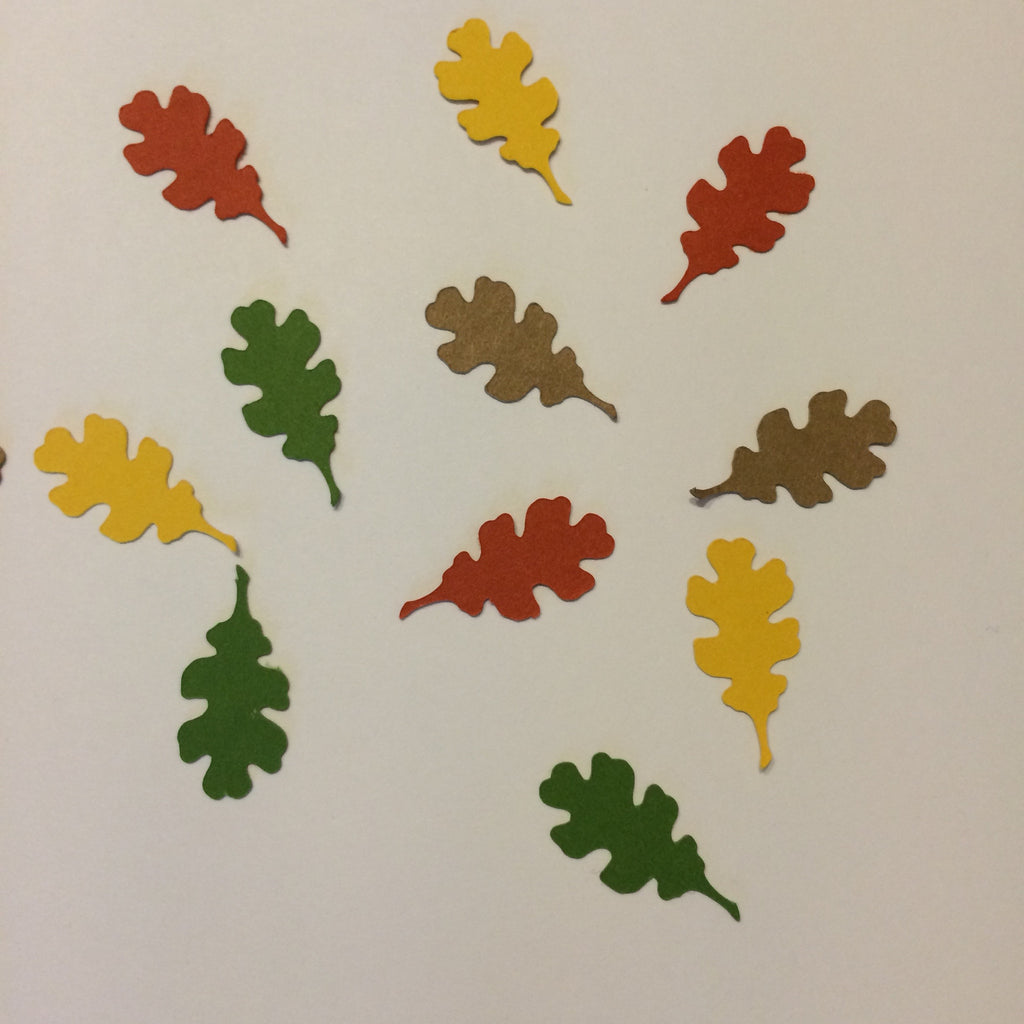 Oak Leaf, Confetti, Cut Outs, NatureCuts