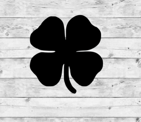 Shamrock Vinyl Stickers