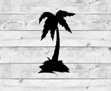 Palm Tree 1 Vinyl Stickers