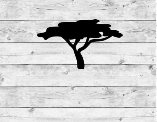 Acacia Tree Vinyl Stickers