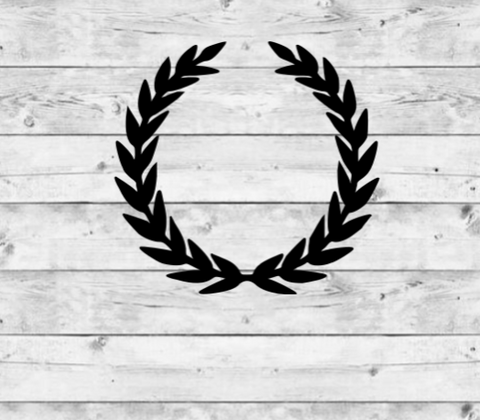 Laurel Wreath Vinyl Stickers