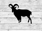 Mountain Goat 2 Vinyl Stickers
