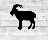 Mountain Goat 1 Vinyl Stickers