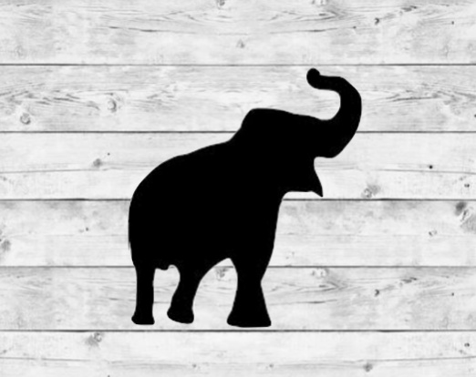 Elephant 1 Vinyl Stickers