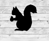 Squirrel Vinyl Stickers