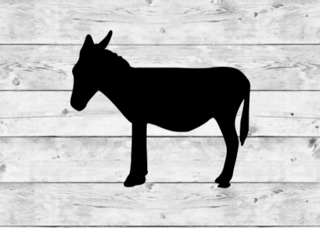 Donkey Vinyl Stickers