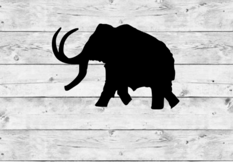 Woolly Mammoth Vinyl Stickers