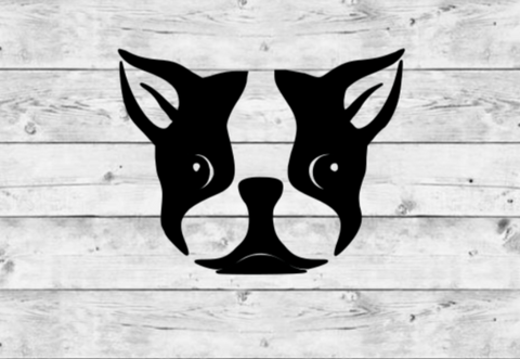 Boston Terrier Vinyl Stickers