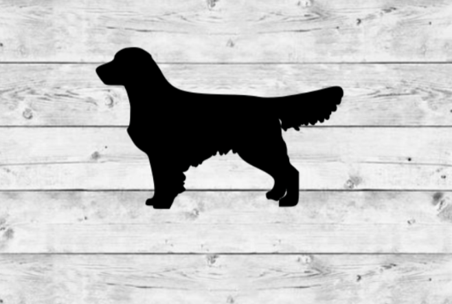 Golden Retriever Vinyl Stickers