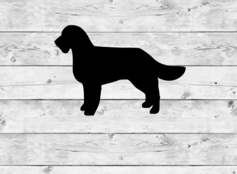 Water Spaniel Vinyl Stickers