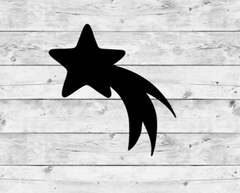 Shooting Star 1 Vinyl Stickers