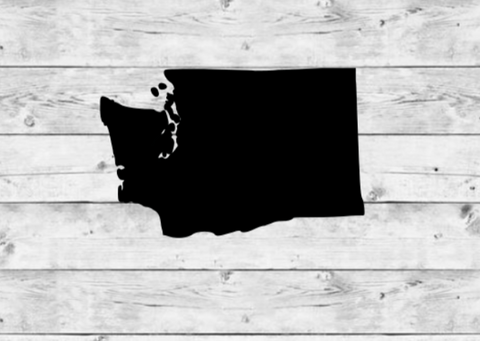 Washington State Vinyl Stickers