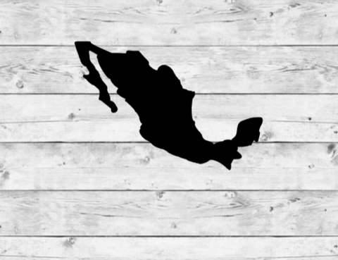 Mexico Vinyl Stickers