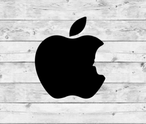 Apple 3 Vinyl Stickers