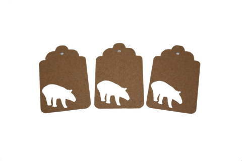 Tapir, Animal, Gift Tag, Tag, NatureCuts