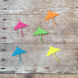 Tropical Umbrella Confetti