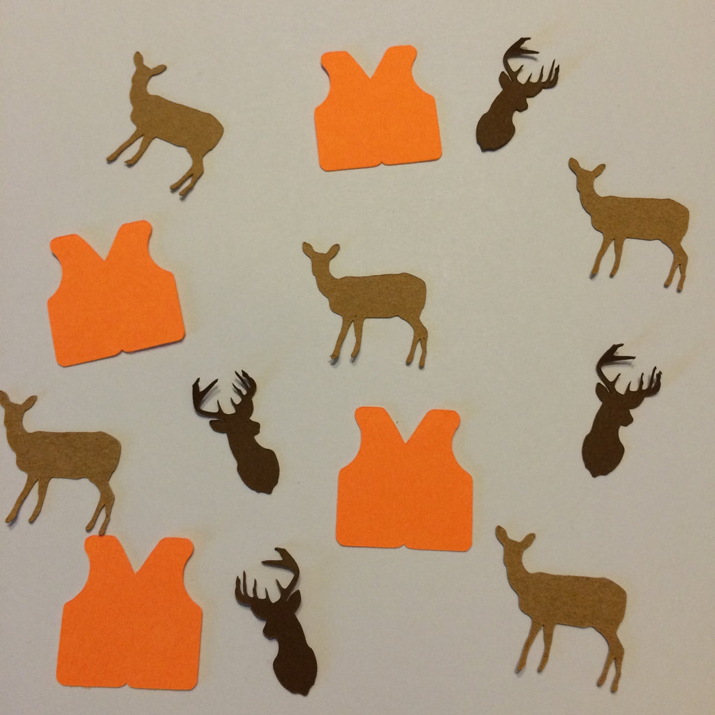Vest, Deer, Buck, Confetti, NatureCuts