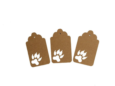 Wolf Tracks, Wolf, Animal, Tag, Gift Tag, NatureCuts