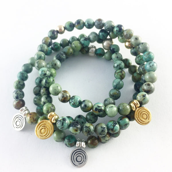 The Awakening Bracelet - Women's Turquoise & Silver