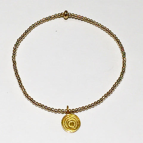 The Awakening Bracelet - Gold Stretch (women)