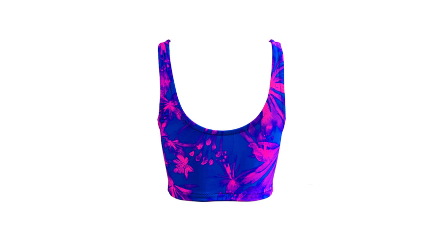 Hanna swim top - ultraviolet