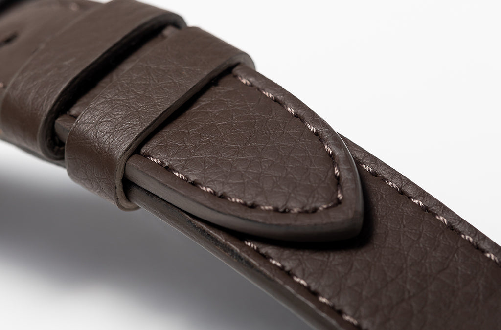 The 20mm Watch Band in Technik-Leather 2.0 in Taupe