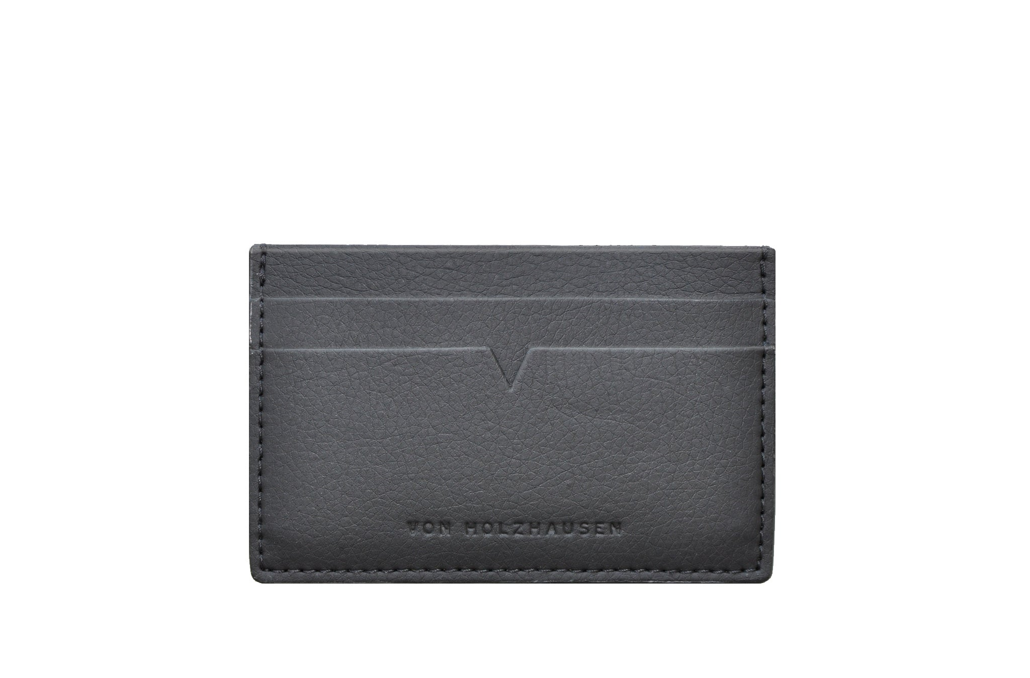 The Credit Card Holder in Technik-Leather in Black