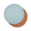 The Coasters in Technik-Leather in Caramel & Sea