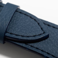 The 24mm Watch Band in Technik-Leather in Denim