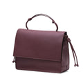 The Handheld in Technik-Leather in Burgundy