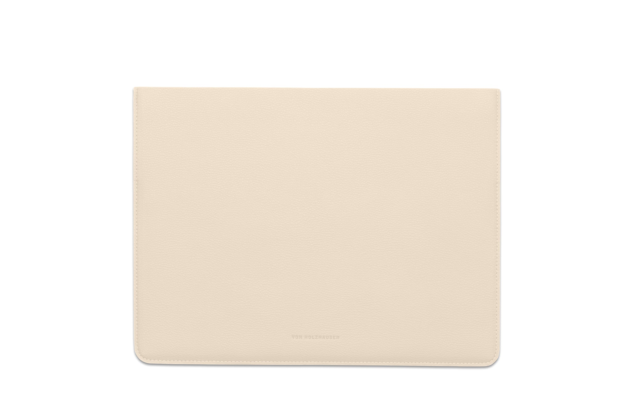 The MacBook Sleeve 13-inch in Technik-Leather in Oat