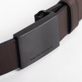 The Men's Belt in Technik-Leather in Taupe