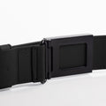 The Men's Belt in Technik-Leather in Black