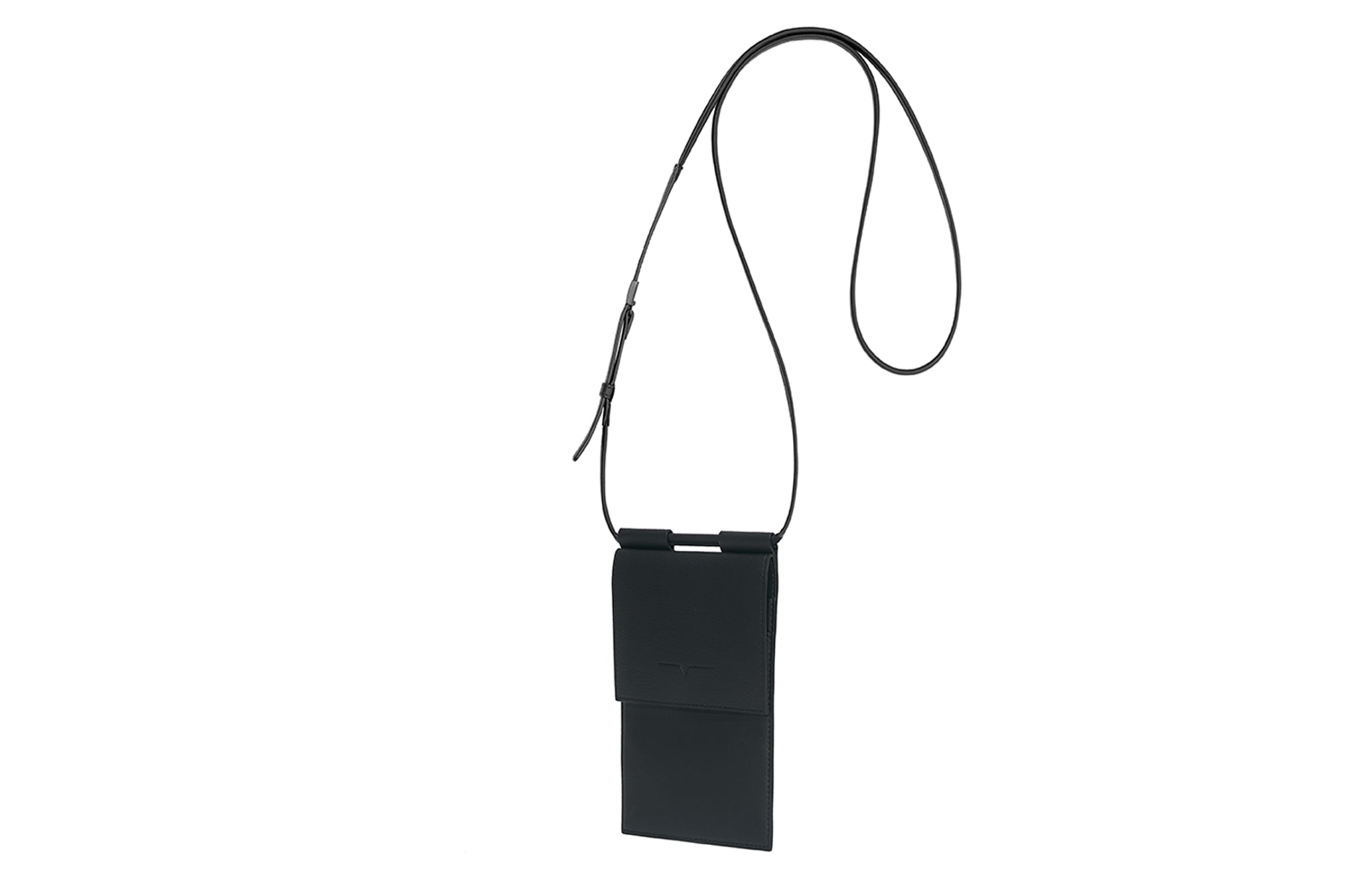 The Micro Bag in Technik-Leather in Black