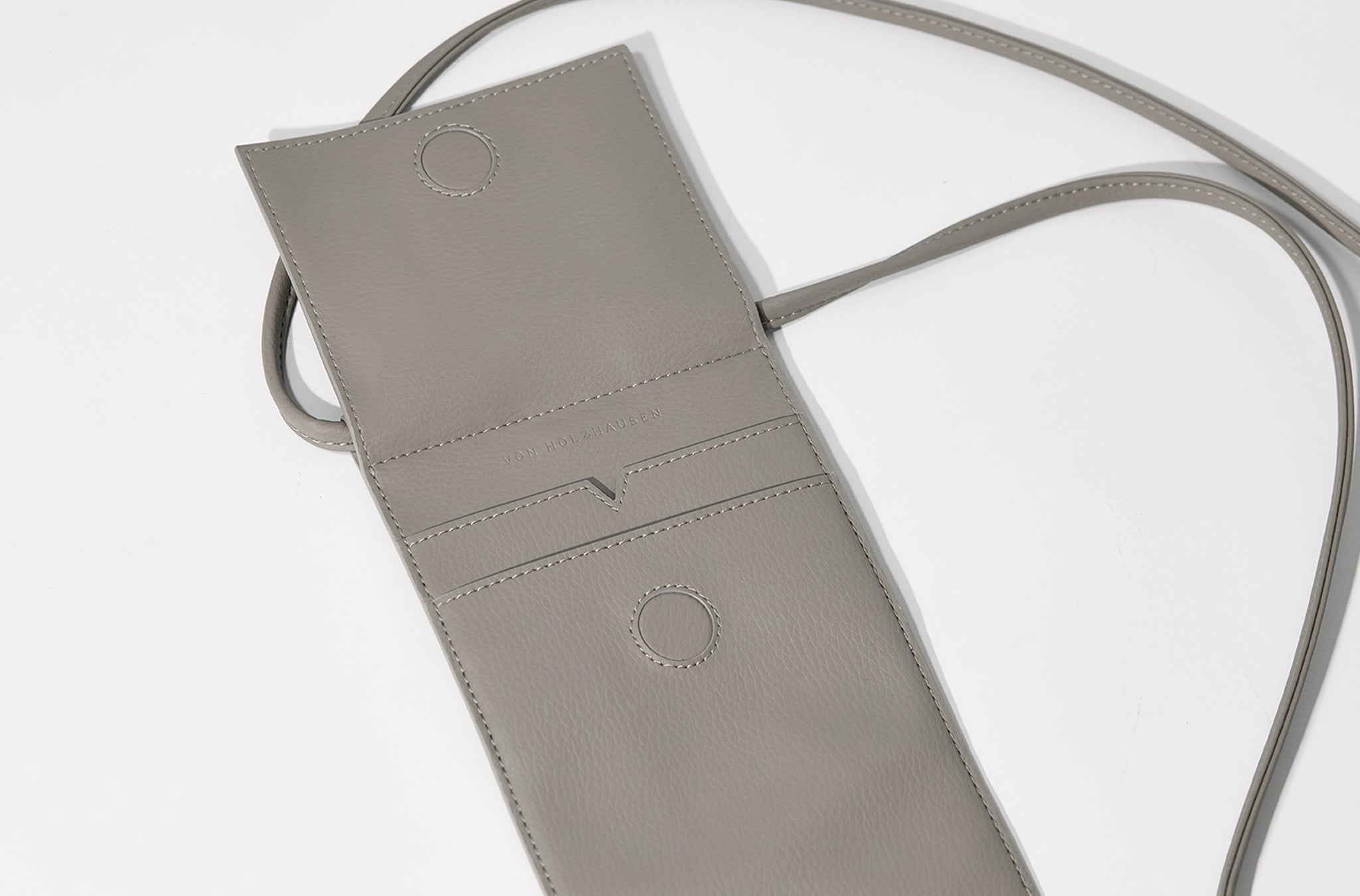 The Micro Bag in Technik-Leather in Stone