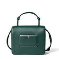 The Mini Handheld in Technik-Leather in Forest Green