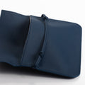 The Pouch in Technik-Leather in Denim