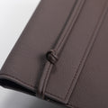The Pouch in Technik-Leather in Taupe