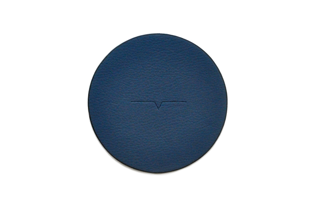 The Coaster in Technik-Leather in Denim