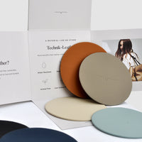 The Swatch in Technik-Leather in Stone