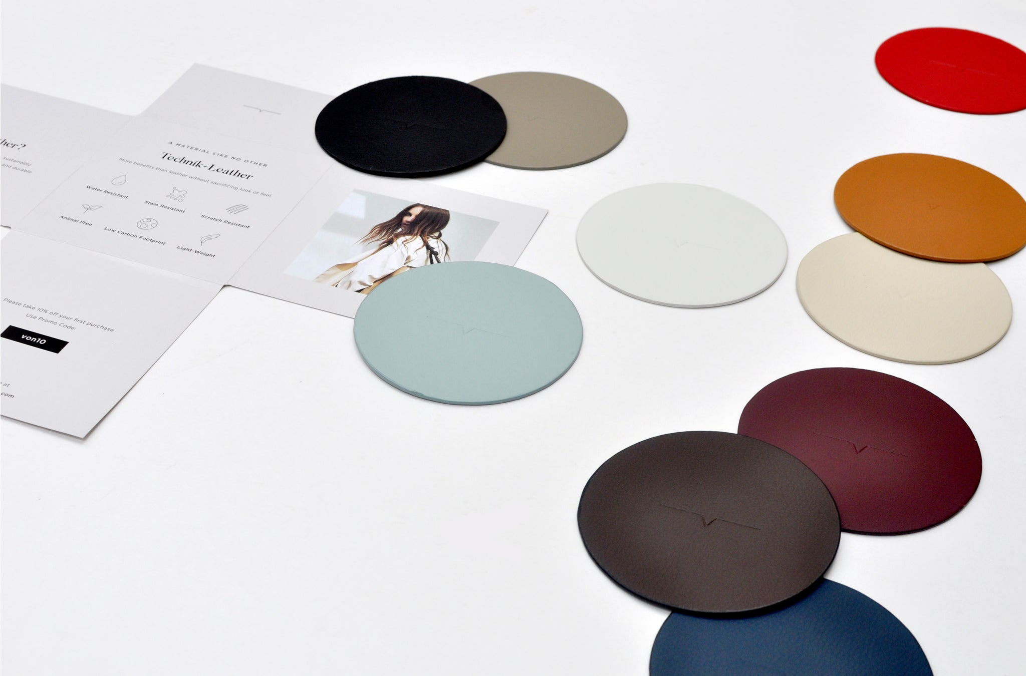 The Swatch in All Technik-Leather Colors