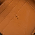 The Zip-Around Wallet in Technik-Leather in Caramel