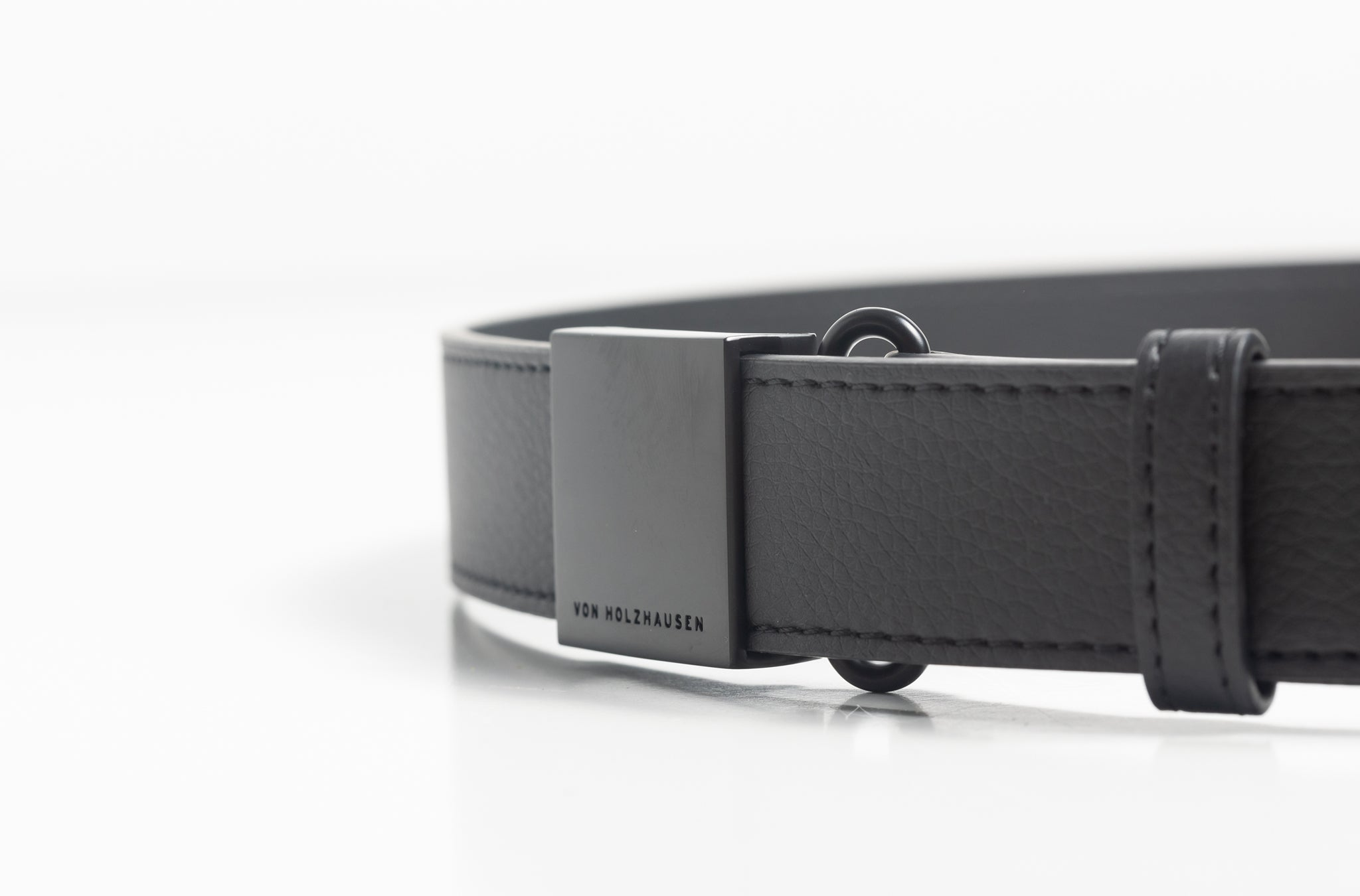 The Belt in Technik-Leather in Black