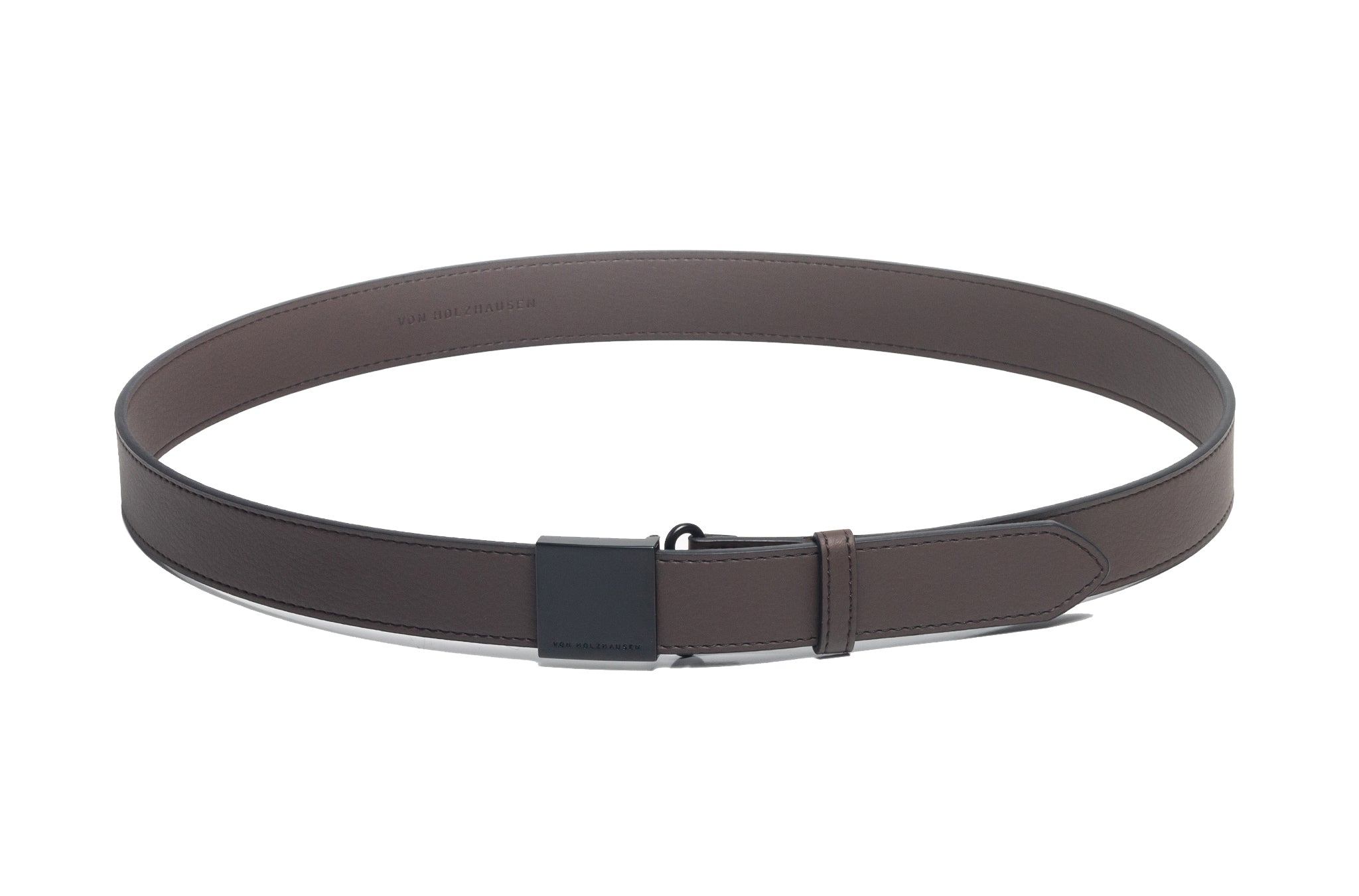 The Belt in Technik-Leather in Taupe