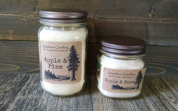 Apple & Pine Mason Jar Candle™