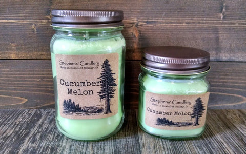 Cucumber Melon Mason Jar Candle™