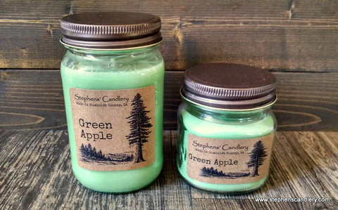 Green Apple Mason Jar Candle ™